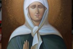 Икона Света Матрона Московска
