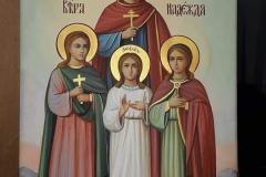 Икона Света Вера, Љубав, Нада и мати им Софија