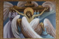Икона Распеће са Анђелима
